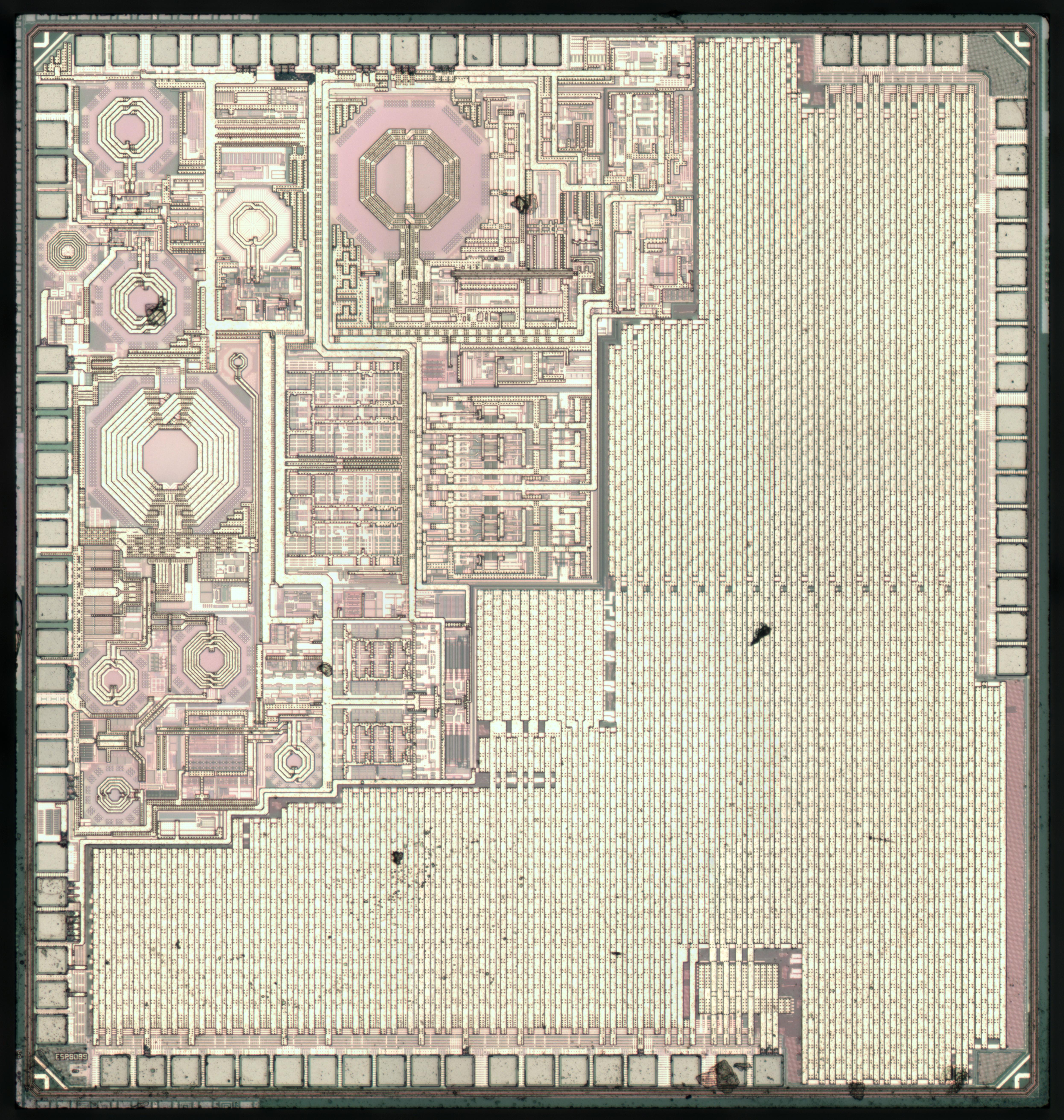 Espressif ESP8266 WiFi-serial interface : weekend die-shot