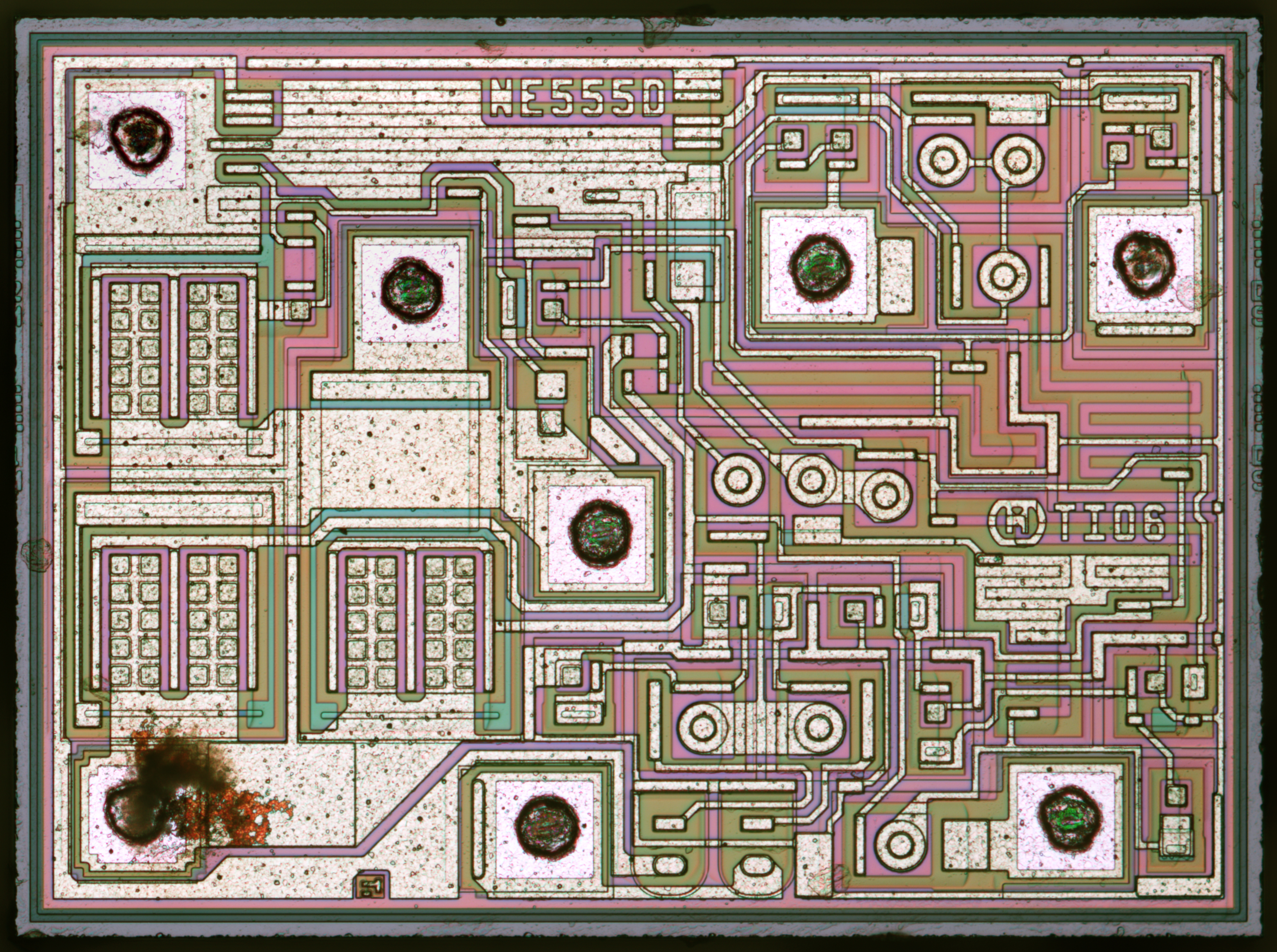 Ti Ne555 Real Vs Fake Weekend Die Shot Zeptobars Lm555 Timer Circuit Page First 555 Marked As From Ebay